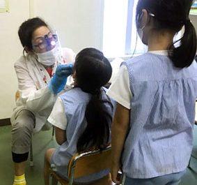 歯科検診(G・Y・Rクラス) 令和2(2020)年9月17日