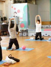 お母さんのための体操教室 令和2(2020)年11月17日