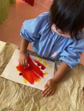 紅葉お絵描き〈プレ1、2歳〉 令和2(2020)年11月16~18日