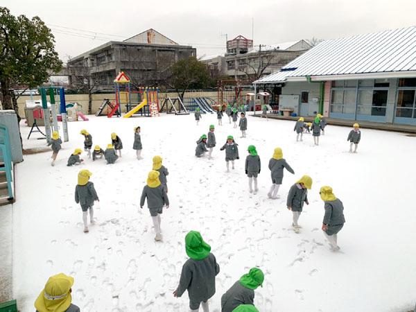 雪遊び 令和3(2021)年1月12日