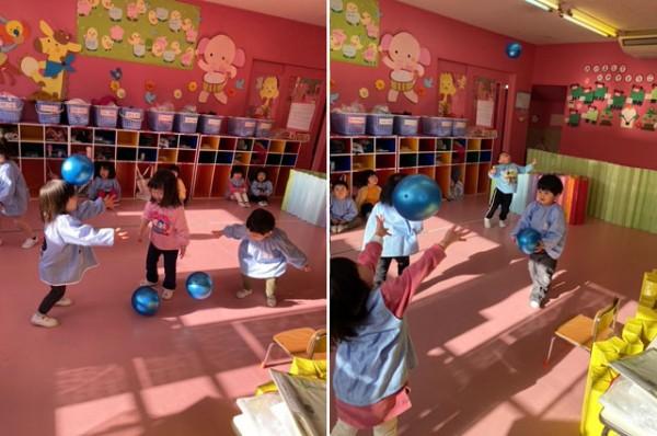 園生活スタート〈2歳児〉 令和3(2021)年1月6日