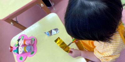ひな祭り製作〈2歳児〉 令和3(2021)年2月15~18日