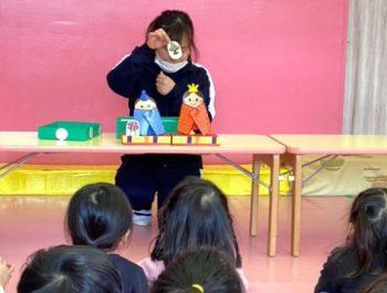 ひな祭り〈1、2歳児〉 令和3(2021)年3月3日