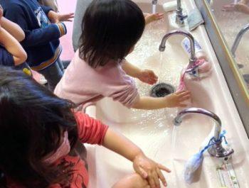 手洗い習慣〈2歳児〉 令和3(2021)年3月1日