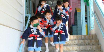 幼年消防クラブ結成式  令和3(2021)年5月13日
