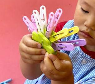 指先遊び〈2歳児〉 令和3(2021)年6月9日
