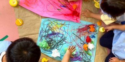七夕壁面製作〈2歳児〉 令和3(2021)年6月15日