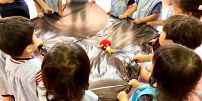 力を合わせて、ヨイショ ‼ 〈2歳児〉 令和3(2021)年6月22日