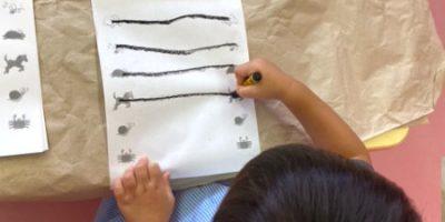 ワークプリント、ボタン遊び〈2歳児〉 令和3(2021)年9月9日